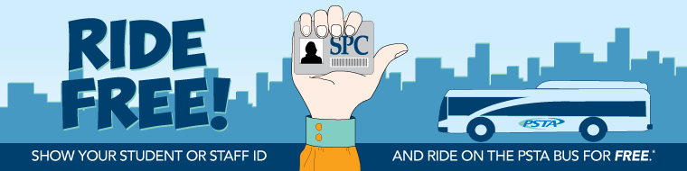 SPC rides PSTA for free