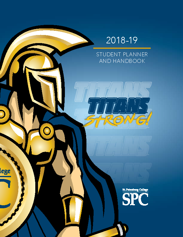 Cover of 2018-2019 Student Handbook