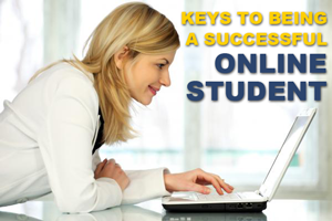Keys to being a successful online student baner image